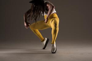 Dana Michel - Yellow Towel. Photo via: Abrons Art Center