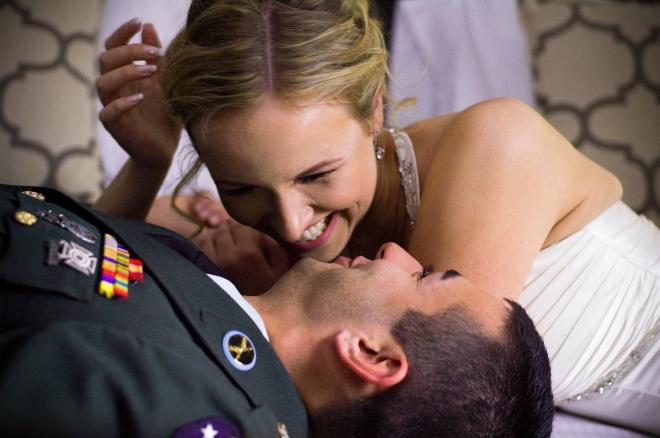 Wedding Shoot,  NYC, Dec 2013.  Full day shoot for Army Specialist and wife