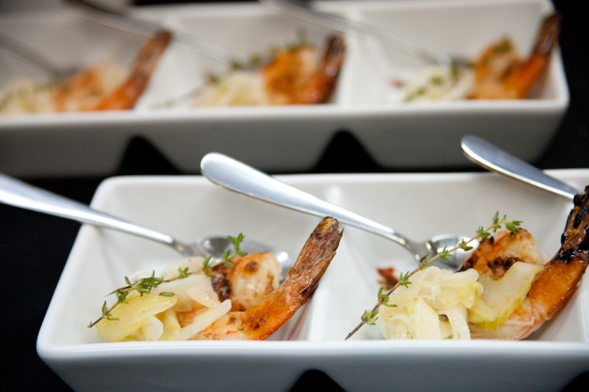 Photo: Tuscan Shrimp with Shaved Fennel