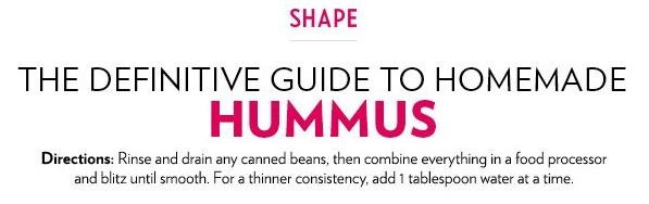 Photo: Shape Magazine via The Daily Meal