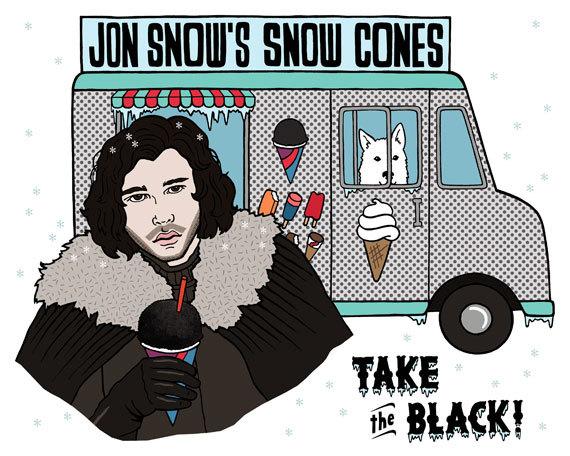 jon snow cones
